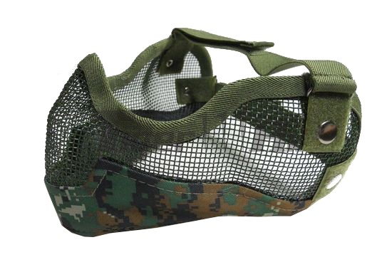 EAIMING Ver.II Metal Steel Reticular Half Face Mask (MARPAT)