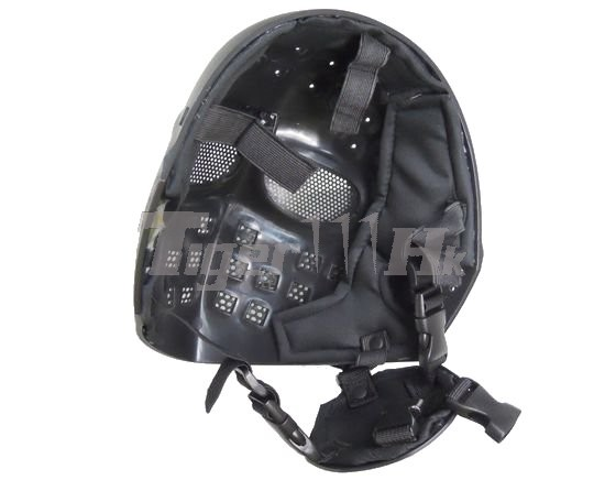 EAIMING Steel Mesh Deluxe Full Face Mask (Black)
