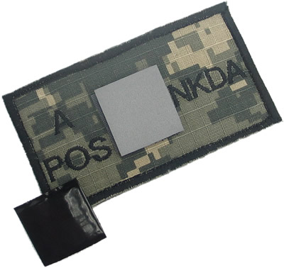 King Arms NNDKA Blood Type Patch - ACU - A