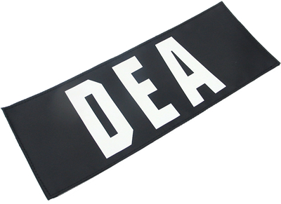 King Arms  DEA Patch - Big