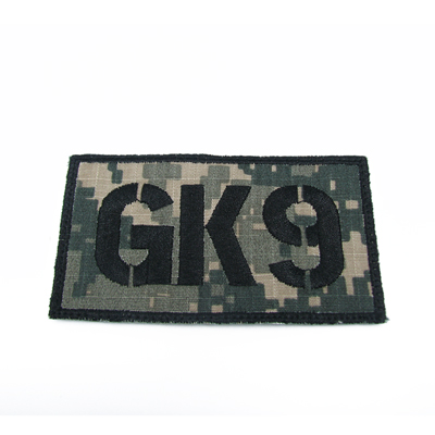King Arms Seal Team GK9 Callsign Embroidery Patch - ACU