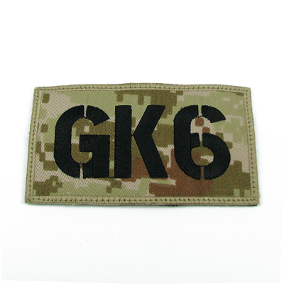 King Arms Seal Team GK6 Callsign Embroidery Patch - MD
