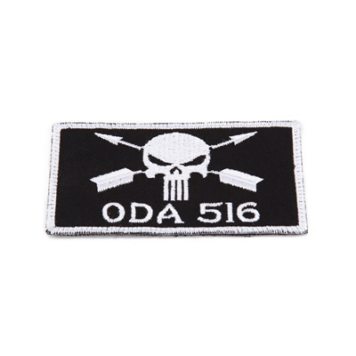 King Arms ODA 516 Embroidery Patch - BK