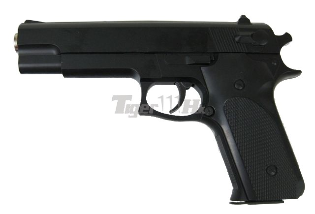 (K-6) SMART Metal Body Spring Pistol Gun (No Marking)