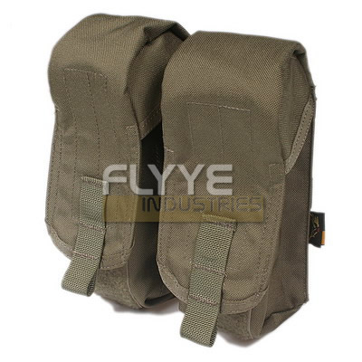 FLYYE BIB SINGLE RIFLE MAGAZINE POUCH RANGER GREEN AIRSOFT CORDURA