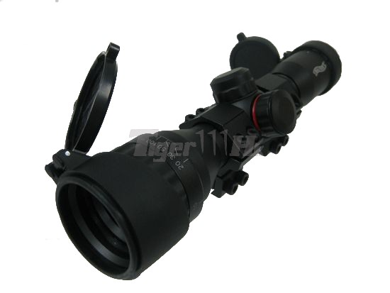 EAIMING Metal 4x32 Rifle Scope with Duplex Reticle for 11mm Rail
