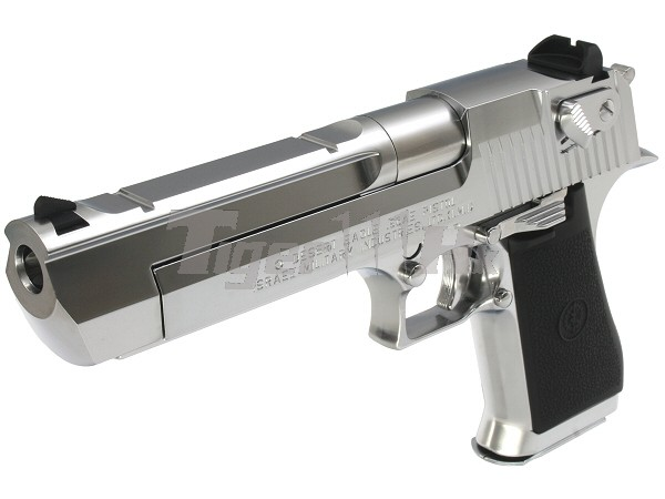 Buy Tokyo Marui Desert Eagle 50ae Hard Kick Gbb Pistol Chorme Airsoft Tiger111hk Area