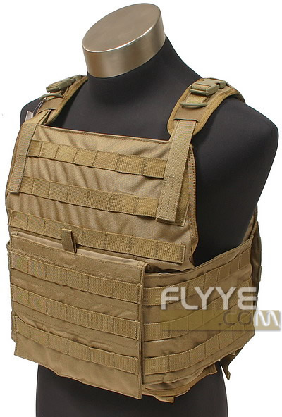 FLYYE MOLLE Style PC Plate Carrier with Pouch Set