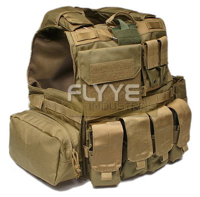 FLYYE Force Recon Vest with Pouch Set Ver.MAR