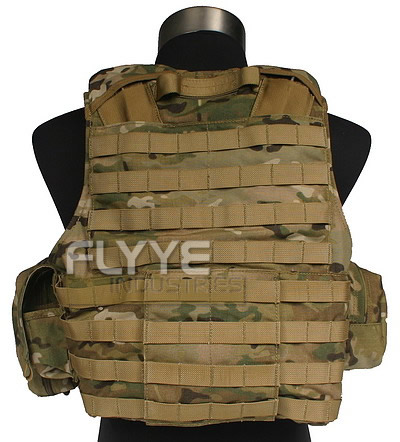 FLYYE Force Recon Vest with Pouch Set Ver.Land