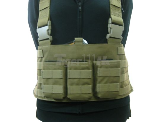 FLYYE LBT AK Tactical Chest Vest (KH)