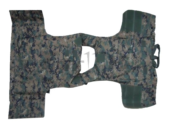 Marine Special Force Full Load MOLLE System Vest -Digital Woodland  Camouflage