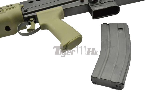 WE High Power British SA80 L85 GBB Rifle Open Chamber