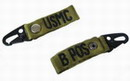 "USMC "" B "" POS Blood Type Identification Strap - OD"