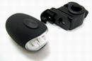 3 Mode No Battery Bike/Bicycle/Hand-Recharge Flashlight