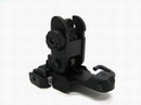 RIS System Alloy Alone Spring Flip up Rear Sight For 20mm Rail