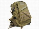 US Marine MOLLE Assault Tactical Middle Backpack - Coyote Brown