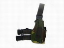 SWAT/BDU Army Universal Combat Pistol Right Leg Holster Woodland