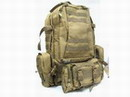 USMC Assault MOLLE Coyote Brown Tactical Gear Backpack -CB
