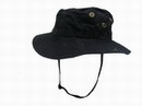 USMC Army Boonie Hat - Black