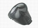 Paintball Wargame Protect Tactical Reticular Full Face Mask -BK