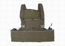 Special Force Full Load Bearing MOLLE Combat Vest - Coyote Brown
