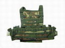 Special Force Full Load Bearing MOLLE Combat Vest -Woodland Camo