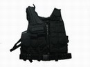 Black Hawk Down Omega HSV Assault Tactical Vest Holster -Black