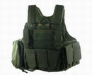 US Force Recon Marine MOD MOLLE Vest - Olive Drab OD