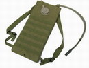 Coyote Brown 2 Way MOLLE 2.5L Hydration Water Backpack -CB