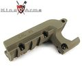 King Arms Pistol Laser Mount for M1911 Series - Dark Earth