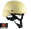 Element MICH 2000 MSA Engraved Light Weight Helmet -TAN