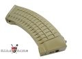 King Arms Waffle Pattern Magazine For AK47 (70 Rounds)-Dark Eark