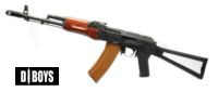 D-BOYS RK-03 AK-74S Full Metal Real Wood AEG (BY003B)