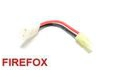 FireFox Battery Wire Plug Converter (Big Plug(F) to Mini Plug(M)