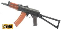 CYMA AK74UN Full Metal Wood Airsoft AEG (Folding Stock)(CM-045)