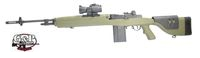 G&P M14 DMR SOCOM Full Size AEG-Foliage Green w/Red Dot Sight