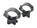 "NOB 1""/25mm Short Non-See Through Scope Ring Mount For 10mm Rail"