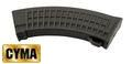 CYMA Mid-Cap 150rd Waffle Pattern Magazine for AK47(Black)