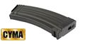 CYMA Metal Mid-Cap 140rd Magazine for AK47 AEG(Black)