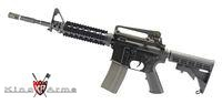 King Arms Colt M4 RIS Nylon Fiber Rifle with GHK GBB Kit