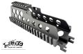 UFC CNC Aluminum R.A.S. 20mm Rail Handguard  For G36C-BK