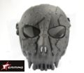 EAIMING Skeleton Warrior Full Face Hard Plastic Mask -Black