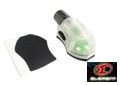 ELEMENT Manta Strobe EX262 ( Black base , Green lighting )