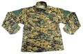 Digital Woodland Camouflage Sling Loop BDU Uniform Set