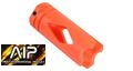 AIP 14mm Plastic Flash Hider For Rifle(Orange)