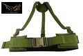 Flyye Nylon Right-Angle Belt(Size M/Olive Drab)