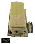 Flyye Nylon Single .45 Pistol Magazine Pouch(Multicam)