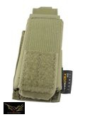 Flyye Nylon Single 9mm Pistol Magazine Pouch Ver.HP(Ranger Grey)