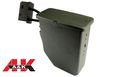A&K 2500rds Electric Box Magazine For M249 AEG(Olive Drab)
